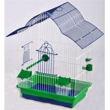 МАЛЬВА клетка для попугаев цинк 330х230х450