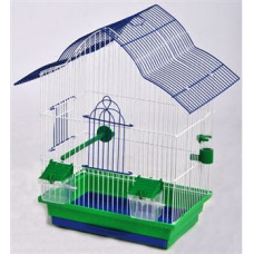 МАЛЬВА клетка для попугаев золото 330х230х450
