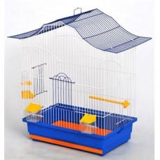 ЛОРИ клетка для попугаев цинк 470х300х620