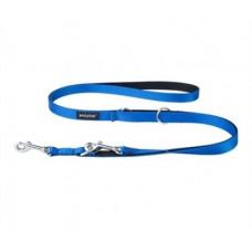 Ami Play Twist Поводок-перестежка (ширина 1см, длина 100-200 см) S голубой