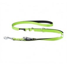 Ami Play Twist Поводок-перестежка (ширина 1см, длина 100-200 см) S зеленый
