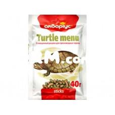 Аквариус Меню для черепах  40 г