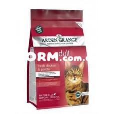 Арден Грендж беззерновой для взрослых кошек Курица и картофель  400 г