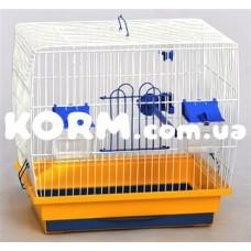 КЕНАР клетка для канарейки цинк 330х230х310