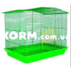 КОМБИ клетка для грызунов цинк 565х400х480