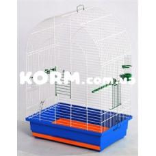 ЛЮСИ клетка для попугаев цинк 470х300х670